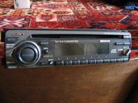 Sony cdx-4270 wejście liniowe zamiast napędu cd