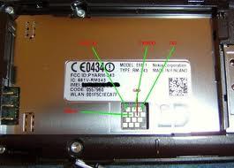 Nokia E66 podłaczenie przez kabel UFS
