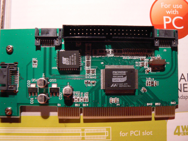 Winxp promise fasttrak 376 tm controller