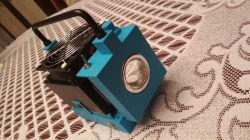 Latarka LED 100W projekt DIY