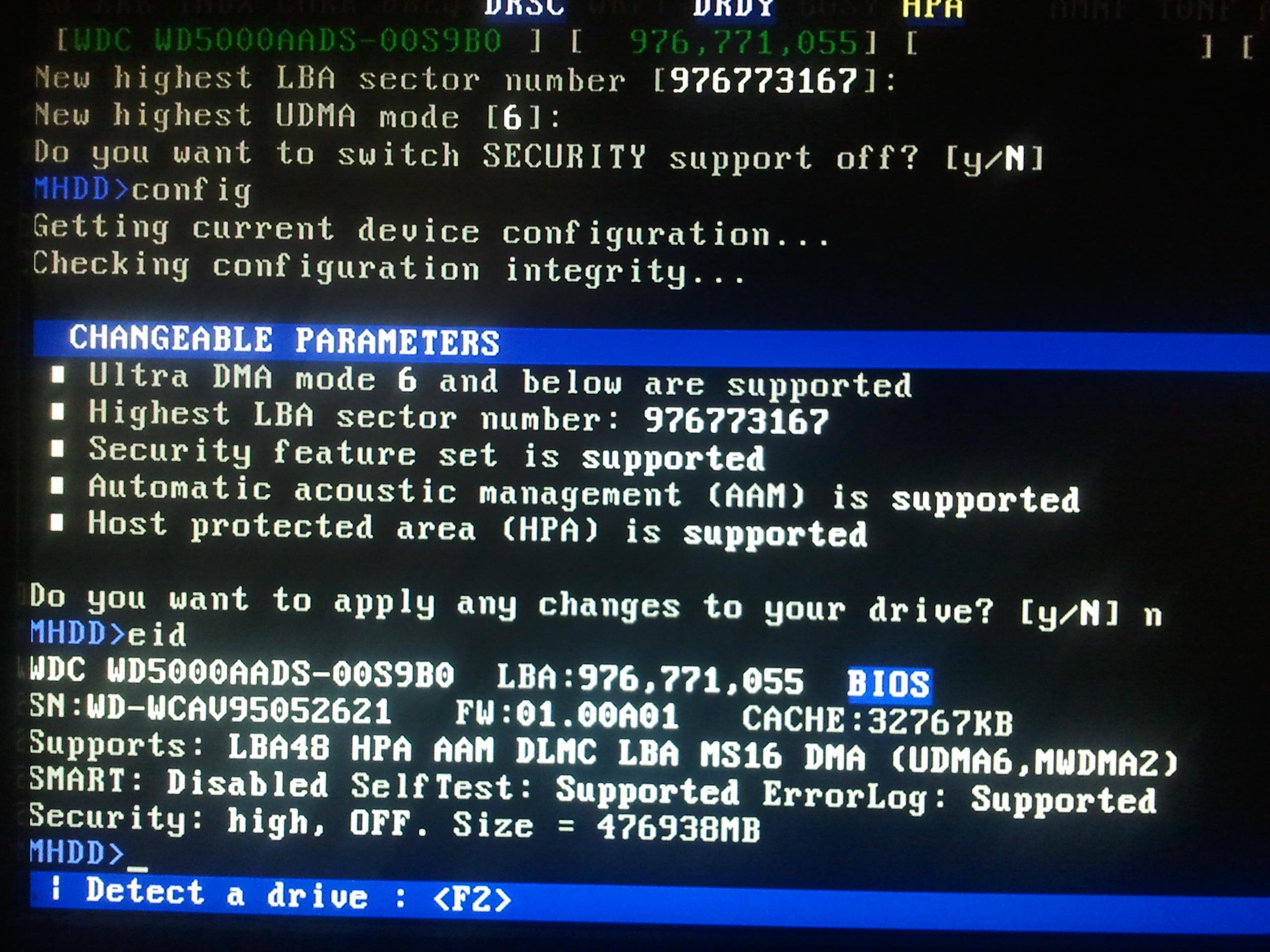 WDC WD5000AADS - Reset w p�tli, uszk. plik sys, brak partycji, odm. dost�pu itd.