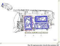 Astra H - Z16XER poszukuję przewodów doprowadzających prąd do pompy paliwa