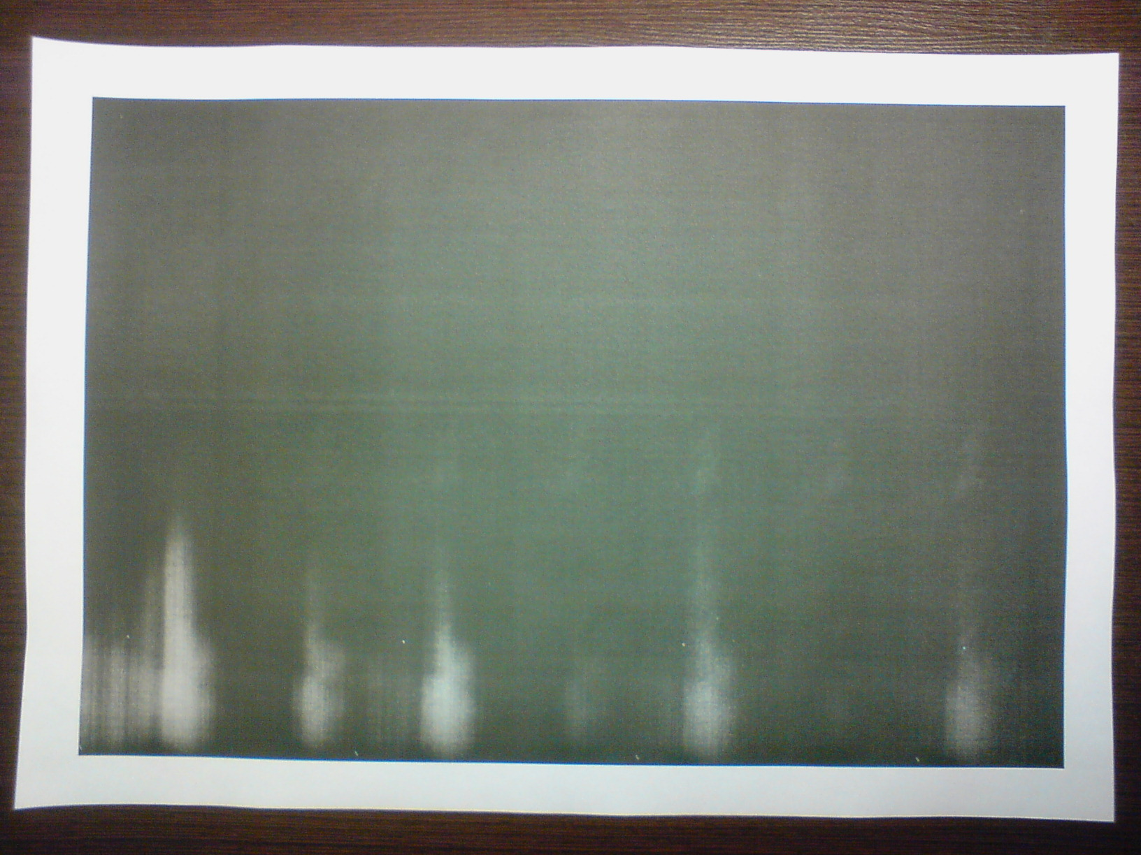 Samsung ML-2010PR - Powtarzaj�ce si� blade obszary na wydruku