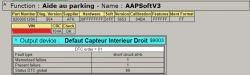 Renault DDT2000 Baza błędów