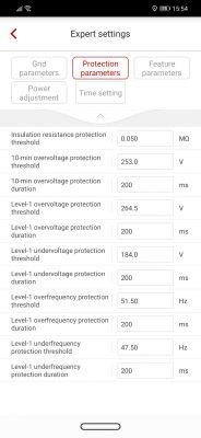 Konfiguracja falownika Huawei SUN2000.