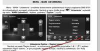 Wybór stacji multimedialnej 2din