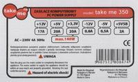 Take Me model: take me 350W - Rozerwany termistor, brak napi�cia na mostku