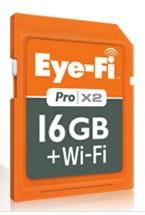 Eye-Fi 16GB Pro X2, czyli karty SD z WiFi