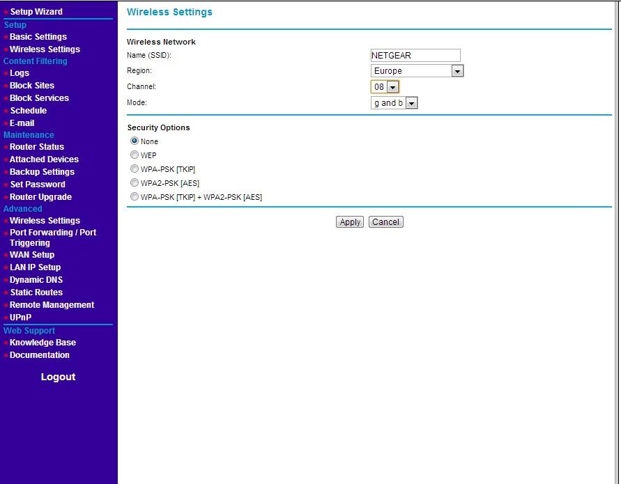 Router Netgear WGR614 v7 - dioda Internet nie �wieci si�