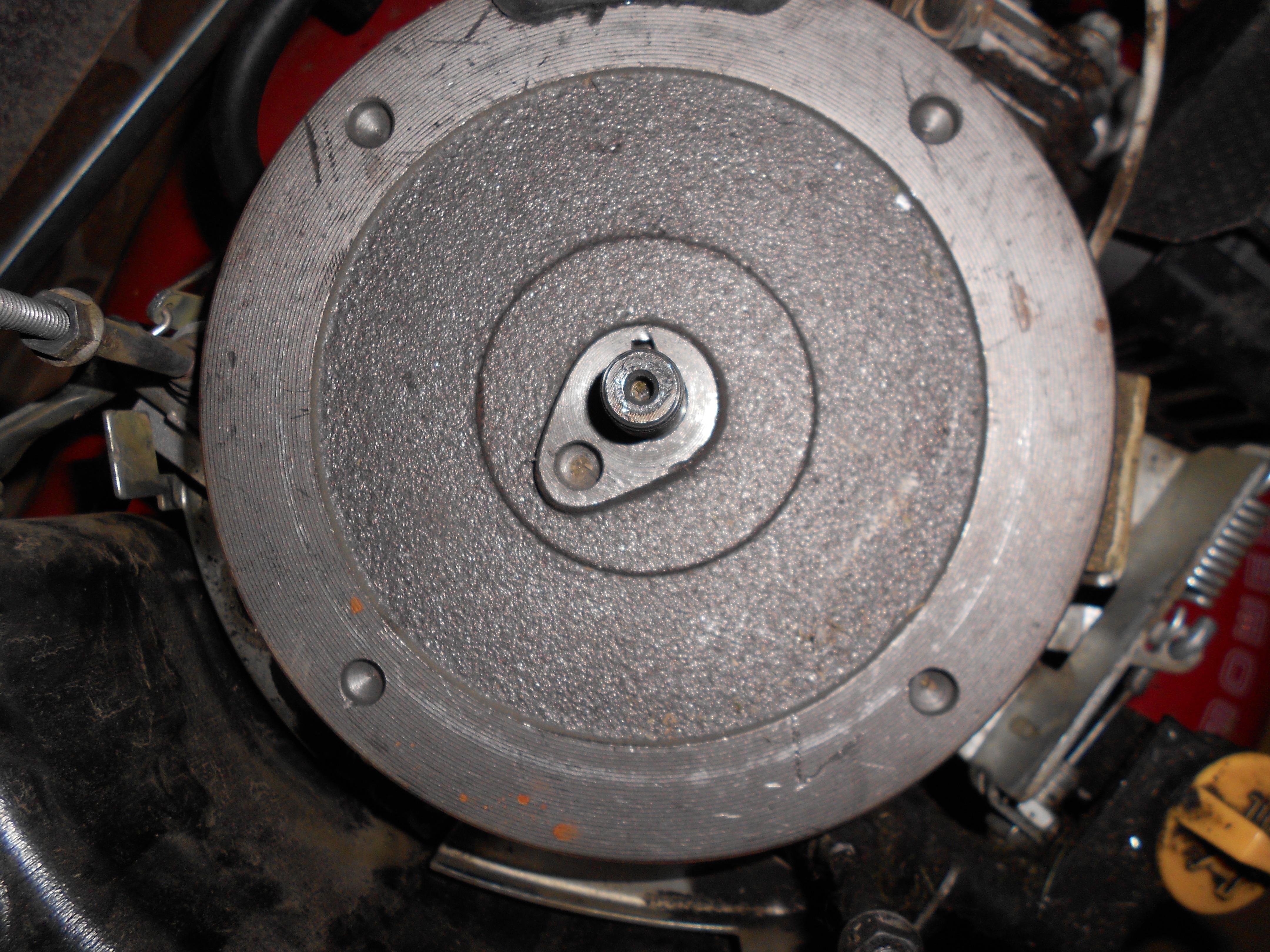 kosiarka NAC S 510H - nie mog� uruchomi� silnika