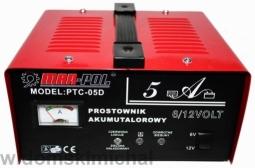 Bass Polska PTC-05D 6/12v brak napi�� wyj�ciwoych