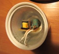 Nagłe zmniejszenie jasności lamp z diodami LED