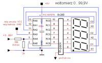 Sterowanie jasnością wyświetlaczy - multiplexowanie