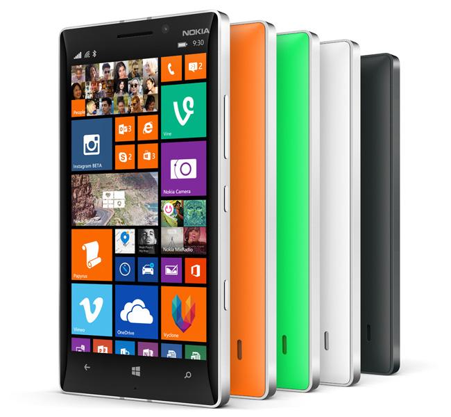 """Nokia Lumia 930 - smartphone z 5"""" OLED i 20Mpix z OIS w sprzeda�y"""