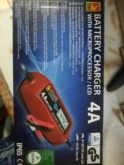 Zasilacz do kompresora samochodowego lub podłączenie go do prostownika