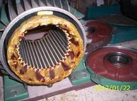 Prądnica 4kW z magnesami neodymowymi do elektrowni pionowej.