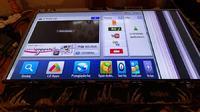 LG 55LW579S - Pasy pionowe po prawej stronie ekranu