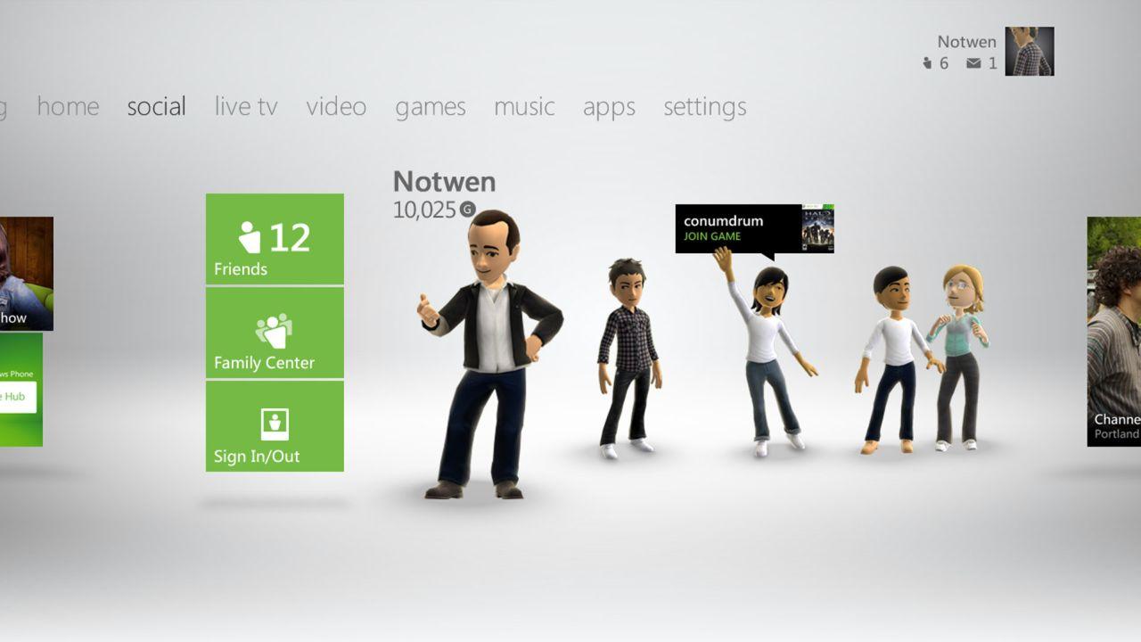Nowy Dashboard dla konsoli Xbox 360 dost�pny od 6 grudnia