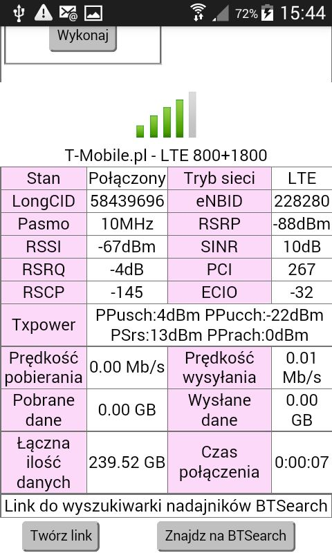 Internet T-Mobile niestabilny, słaby zasięg - jaka antena?
