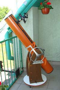 Teleskop zwierciadlany by JAP