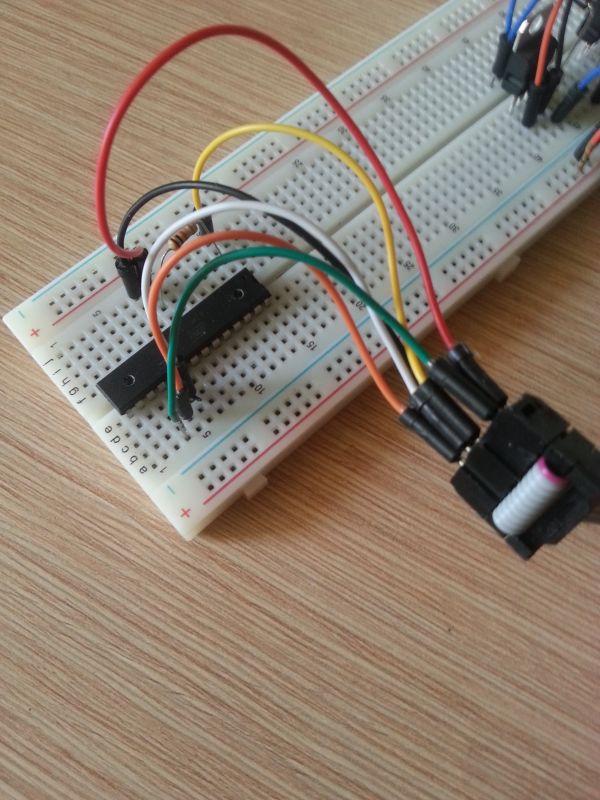 USBasp nie może wgrać programu na atmege328p