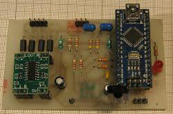 Radio FM: RDA5807M + arduino nano + PAM8403 + IR