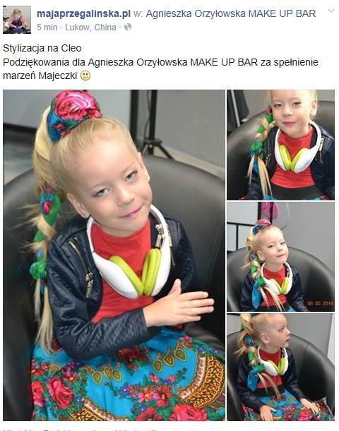 Podziękowanie Dla Agnieszka Orzyłowska