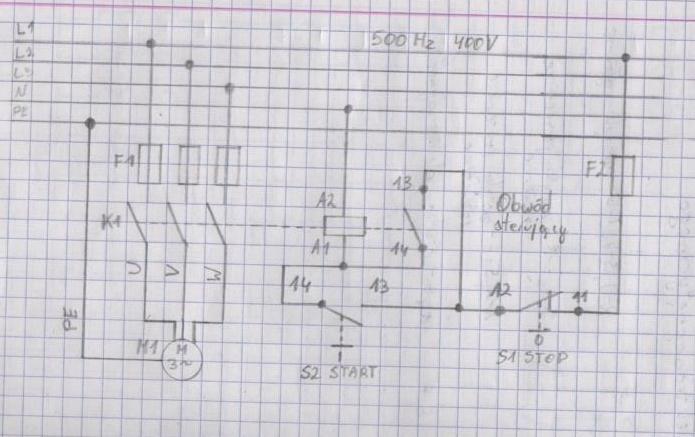 Plan dzia�ania - Sterowanie silnika elektrycznego