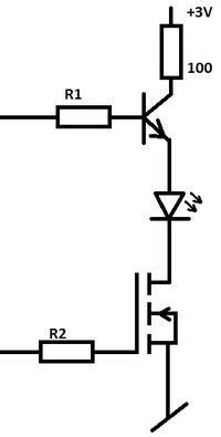 Sterowanie matrycą diod z mikrokontrolera.