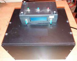 Naświetlarka UV z wykorzystaniem lamp do lakierów