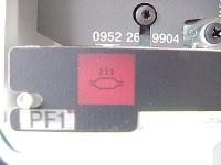 BMW e36 1995 - Kontrolka przegrzania katalizatora