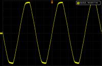 Tygodniowy pomiar częstotliwości napięcia sieciowego - eksperyment.