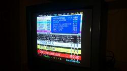 Elemis 5511T - Dźwięk jest, siatka obrazowa jest, brak treści obrazu
