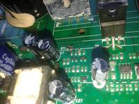 pralka Hover VHDS6143ZD - Spalone rezystory
