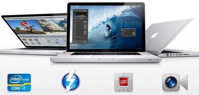 Nowe MacBooki Pro z Sandy Bridge i Thunderbolt