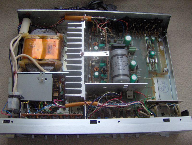 Diora WS354A pal�ca si� ko�c�wka mocy i sk�adowa sta�a na wyj�ciu (+36V)