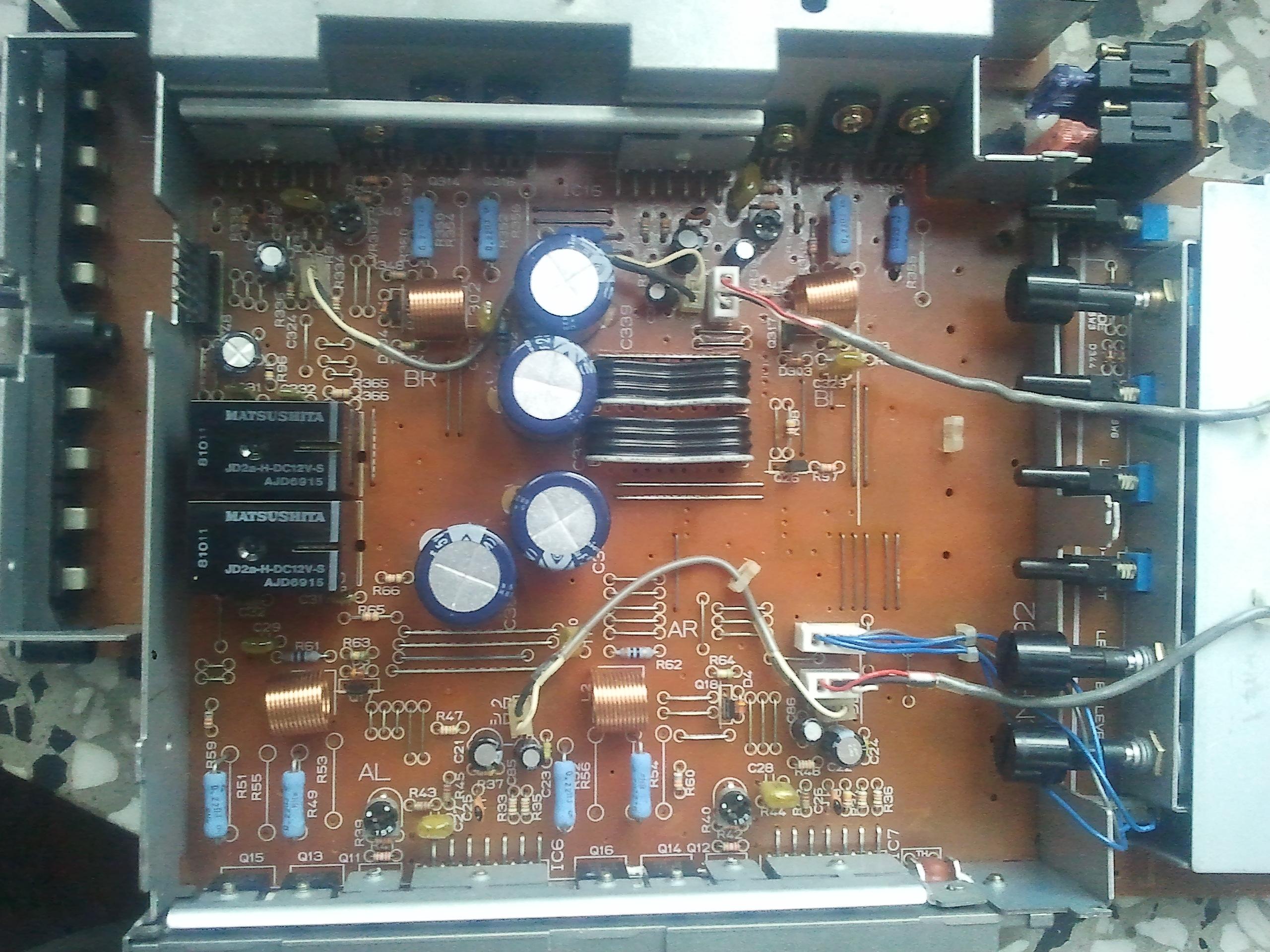 Schema elettrico pioneer gm