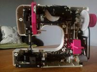 maszyna do szycia finesse KP-528 nie łapie dolnej nitki