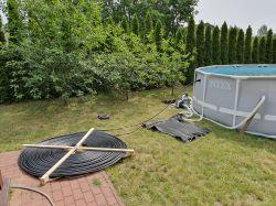 Ogrzewanie basenu ogrodowego.
