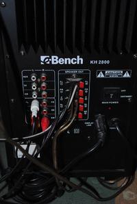 Pioneer DV-370 i Bench KH 2800 - Jak podłączyć DVD do głośników Bench KH 2800