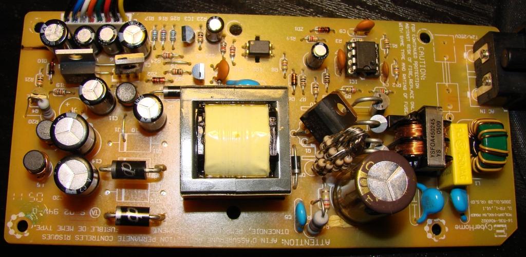 Impulsowy zasilacz do nagrywarki Cyberhome 1600