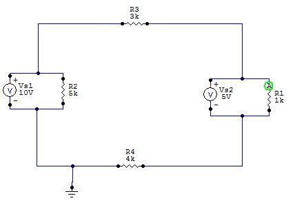 Obliczenie prądów w obwodzie