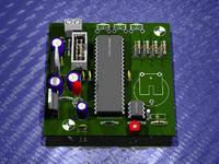 """Zegar """"VGA-RTC"""" - ATMega16+PCF8583+TeleVGA+Monito"""