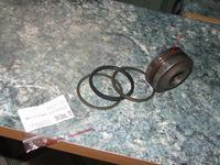 t25 w�adimirec  -  si�ownik hydrauliczny wymiana podk�adek t�oka