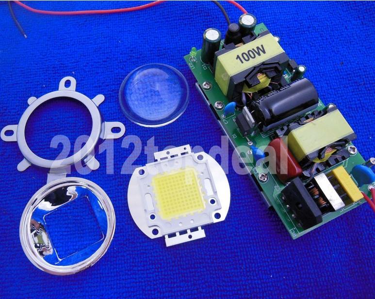 Budowa stroboskopu - zasilacz sta�opr�dowy, dioda 100W Power LED