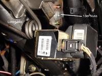 Seat ibiza II FL cupra 1.8 20v - Czujnik przyspieszenia poprzecznego G200
