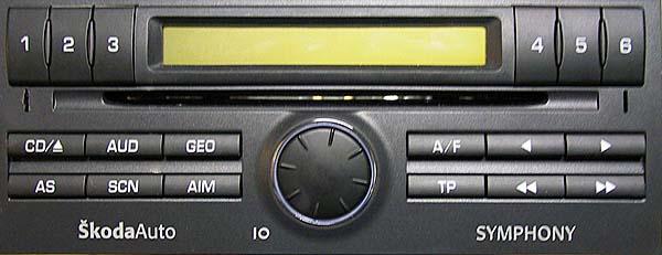 niedzia�aj�cy centralny zamek w skoda fabia po wymianie radia na sony CDX-GT35U
