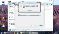 Rosetta i windows 7 instalacja przerywana