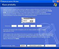 Windows Xp Home Edition nie moge aktywowa�