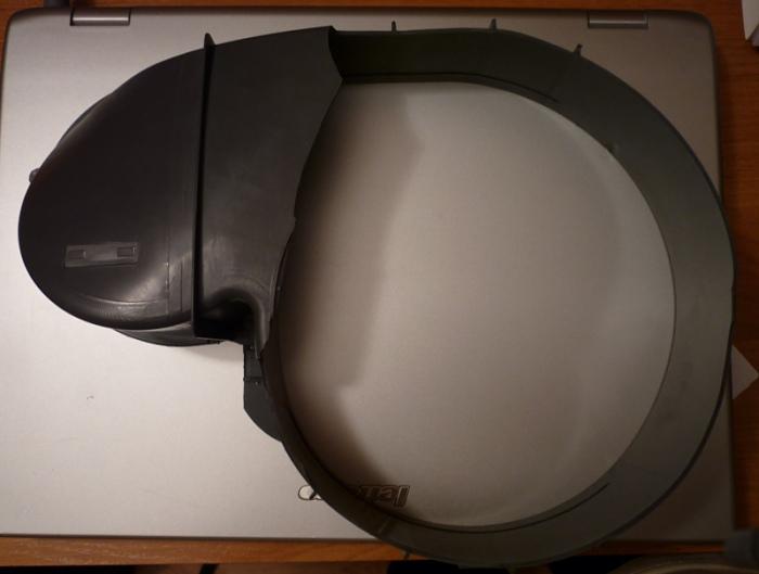 Mastercook WT-Snel 50X - Po�amana obudowa wentylatora w transporcie.
